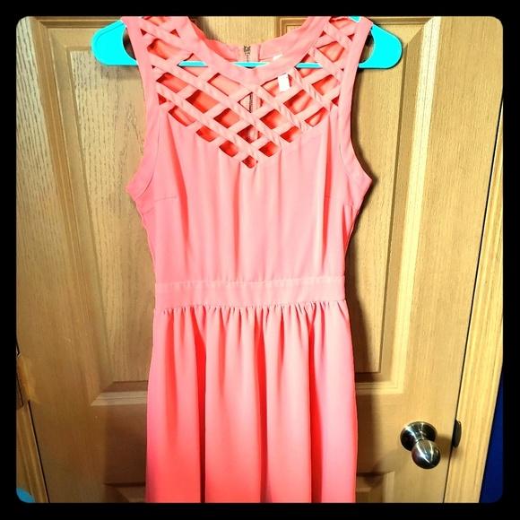 Xhilaration Dresses & Skirts - • 💕Neon Pink Dress💕 •